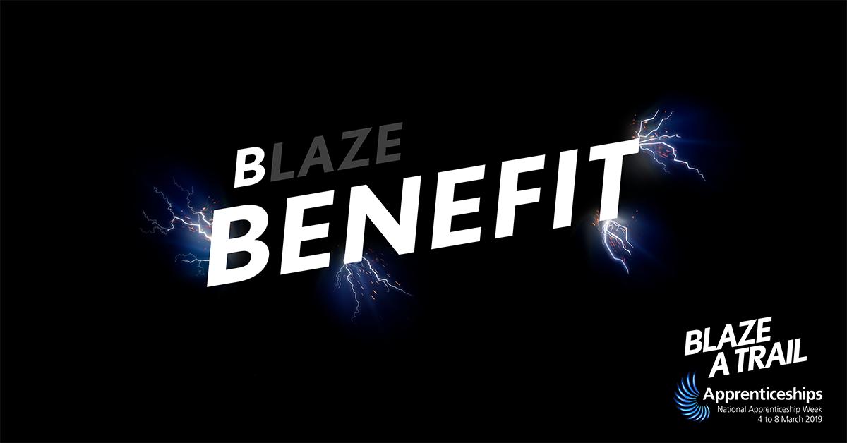 Blaze a Trail - Benefit